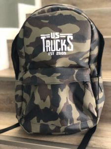 Camo Backpack Vintage Logo